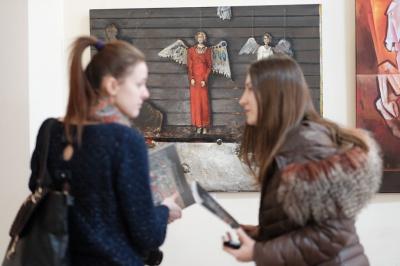 В Черновцах открыли коллекцию живописи о Грюнвальдской битве (ФОТО)