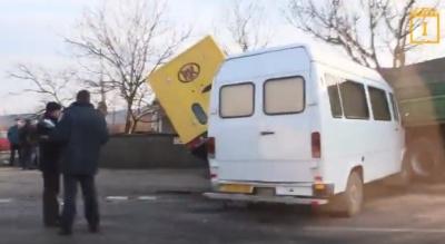 У Мамаївцях зіткнулись три автомобілі, внаслідок чого загинув один чоловік (ВІДЕО)