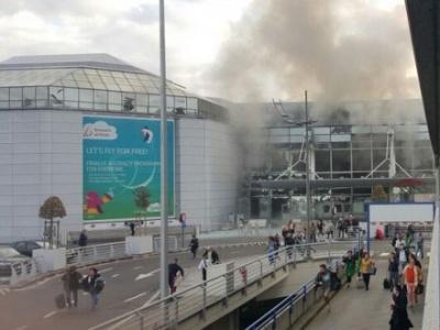 В аеропорту Брюсселя вибухи — загинули люди