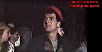 """У мережі з'явилося архівне відео з Георгієм Гонгадзе на фестивалі """"Червона рута"""" в Чернівцях (ВІДЕО)"""