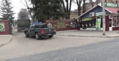 До Чернівців прибули 30 мобільних груп, які охоронятимуть українсько-румунський кордон (ФОТО)