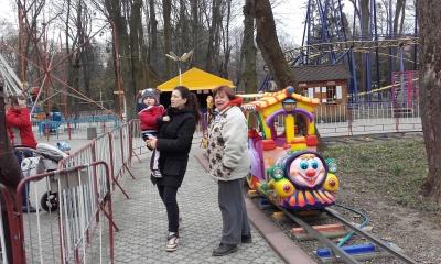 Центральний парк у Чернівцях добирає операторів на атракціони