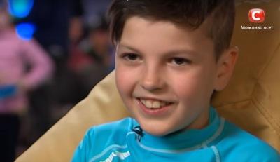 10-річний буковинець підкорив сцену «Україна має талант» танцем, який вивчив сам