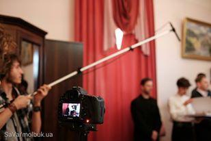 У кабінеті заступника мера Чернівців знімали сцену для короткометражки (ФОТО)