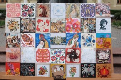 Художницы из Черновцов посвятили свои картины Надежде Савченко (ФОТО)