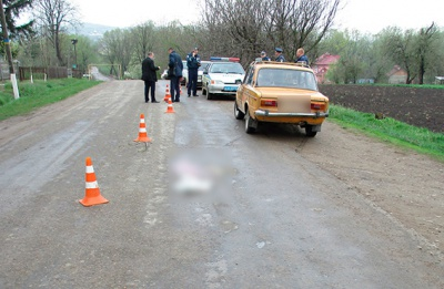 На Буковині авто збило на смерть 5-річного хлопчика