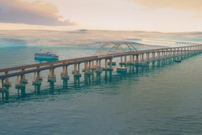 Росія відклала запуск залізничного мосту до анексованого Криму