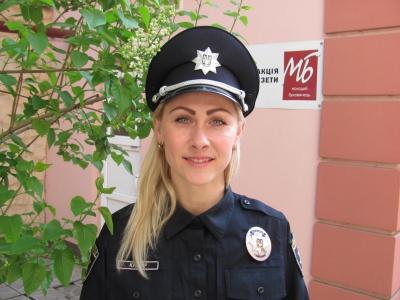 Чернівчанка з педагогічною освітою стала поліцейським