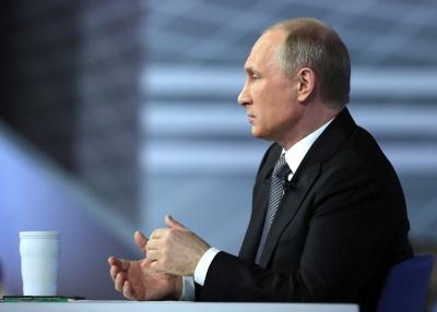 Путін продовжує запевняти росіян, що активних бойових дій на Донбасі не буде