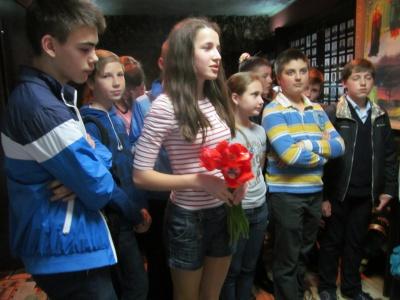 У Чернівцях ліквідатори Чорнобильської аварії зустрілися зі школярами