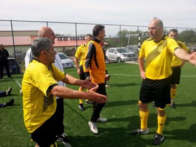 Ветерани буковинського футболу відзначилися на всеукраїнському турнірі