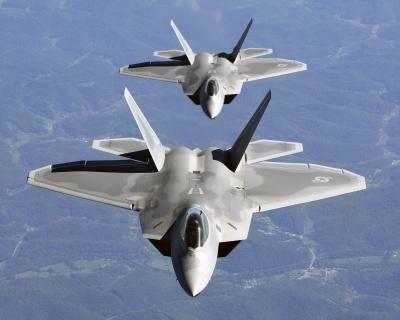 США перебрасывают к Румынии истребители F-22