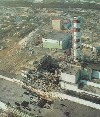 30 років тому сталася Чорнобильська катастрофа