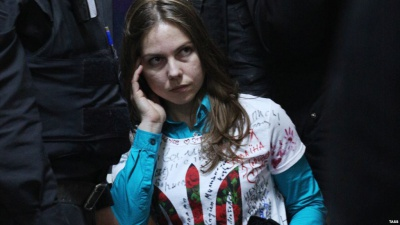 Сестру Савченко не випускають з Росії
