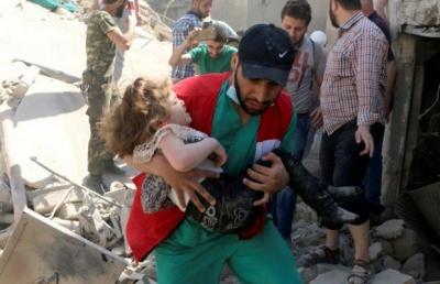 За 6 днів бомбардувань Алеппо загинули 200 осіб