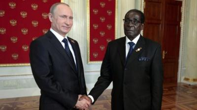 Росія буде боротися проти санкцій разом із Зімбабве