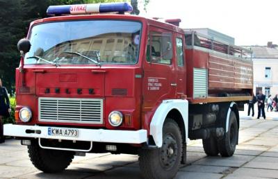 На Буковину поляки привезли пожежний автомобіль
