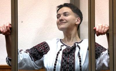 Надія Савченко вже летить в Україну