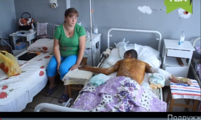 У Чернівцях студент ледь не загинув на практиці: вибухнула паяльна лампа (ВІДЕО)