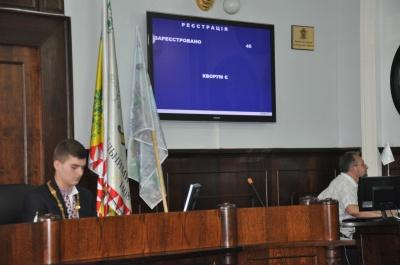 Діти в Чернівцях спробували себе в ролі депутатів та мера (ФОТО)