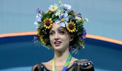 """Ганна Різатдінова здобула """"золото"""" на етапі Кубка світу з художньої гімнастики"""