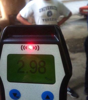 У Чернівцях полісмени затримали водія, вміст алкоголю в крові якого у 15 разів перевищував норму