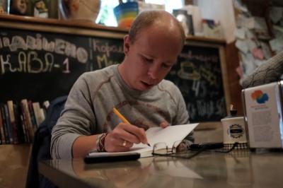 Письменник з Донбасу привіз чернівчанам казкову дитячу історію (ФОТО)