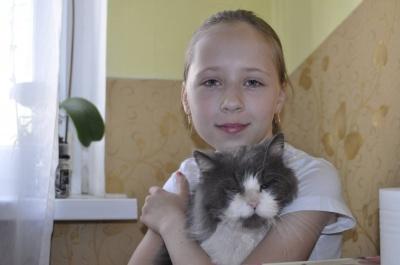 У родині чернівчан живе кіт, якому 17 років (ФОТО)