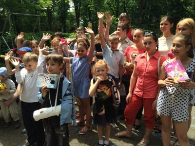Школярям влаштували розваги у парку та в туркомплексі (ФОТО)