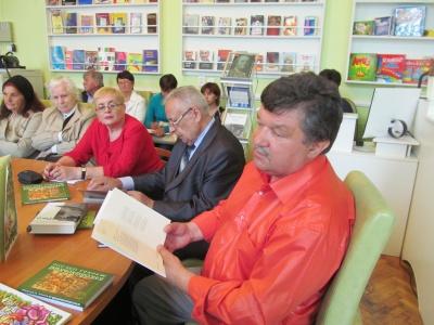 Мирослав Лазарук презентував нові книги