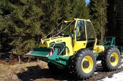 Буковинські лісгоспи купують техніку, яка менше шкодить природі
