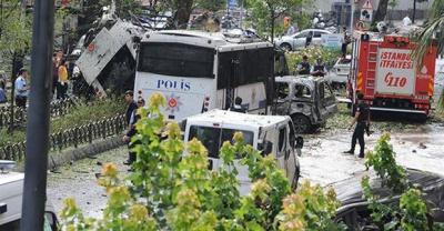 Через вибух у центрі Стамбула загинули 11 осіб