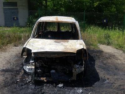 В активіста з Чернівців спалили автомобіль (ФОТО)