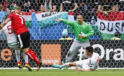 Євро-2016: Збірна Угорщини обіграла команду Австрії