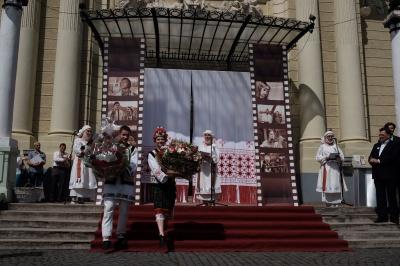Іванові - 75: у центрі Чернівців стартувало святкування ювілею кіномитця Миколайчука
