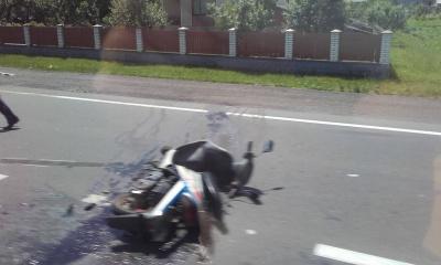 На Буковині маршрутка збила насмерть водія мопеда (ФОТО)
