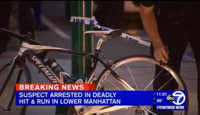 На Манхеттені водій збив насмерть чернівчанку, яка їхала на велосипеді