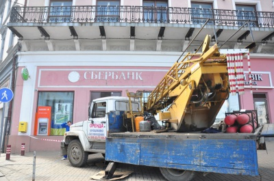 """Вслід за Чернівцями у Тернополі заборонили використовувати на вивісках слова """"Росія"""" і """"Москва"""""""