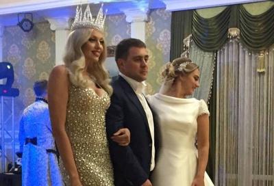 Полякова провела весілля у депутата Чернівецької міськради (ФОТО)