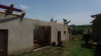 У селі на Буковині буревій завдав шкоди півтори сотні будинкам