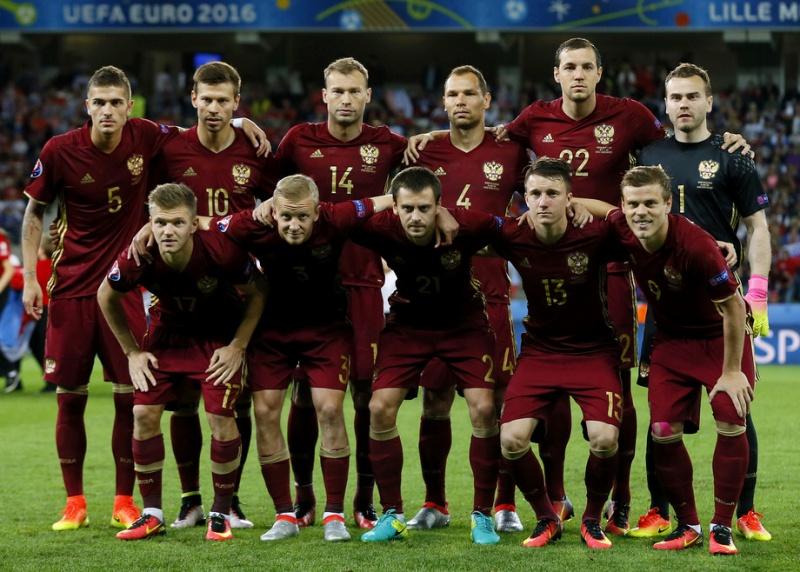 стоимость сборной россии по футболу 2016