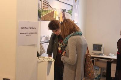 Архітектори в Чернівцях представлять свої ідеї на виставці
