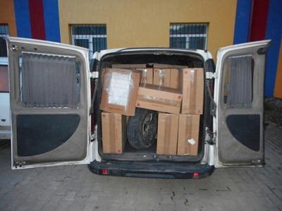 Чернівчанин намагався провезти до Румунії цигарки на чверть мільйона гривень