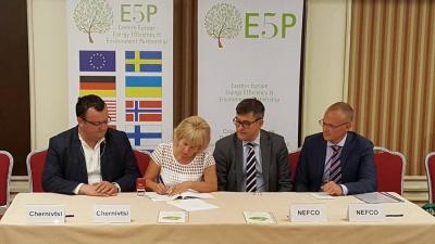 Мер Чернівців підписав кредитну угоду з NEFCO на утеплення шкіл і дитсадків