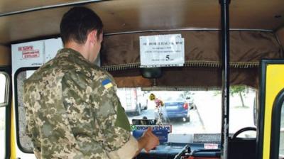 На Буковині водій маршрутки відмовився підвезти бійця АТО, відправивши його до каси за квитком