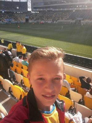 """Школяр з Буковини побував на """"Євро"""" і мріє стати професійним футболістом"""