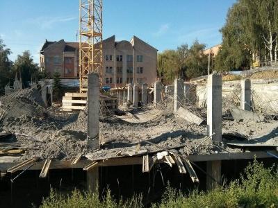 ДАБІ просять провести ревізію всіх об'єктів, які будувала фірма, новобудова якої у Чернівцях обвалилася