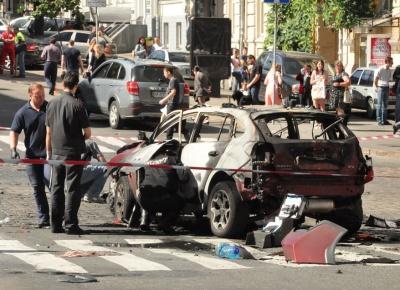Авто Шеремета підірвали саморобним вибуховим пристроєм