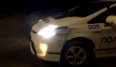 Patrol Chernivtsi got in an accident (VIDEO)