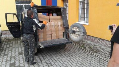 На Буковині СБУшники вилучили контрафактних цигарок на 150 тисяч гривень